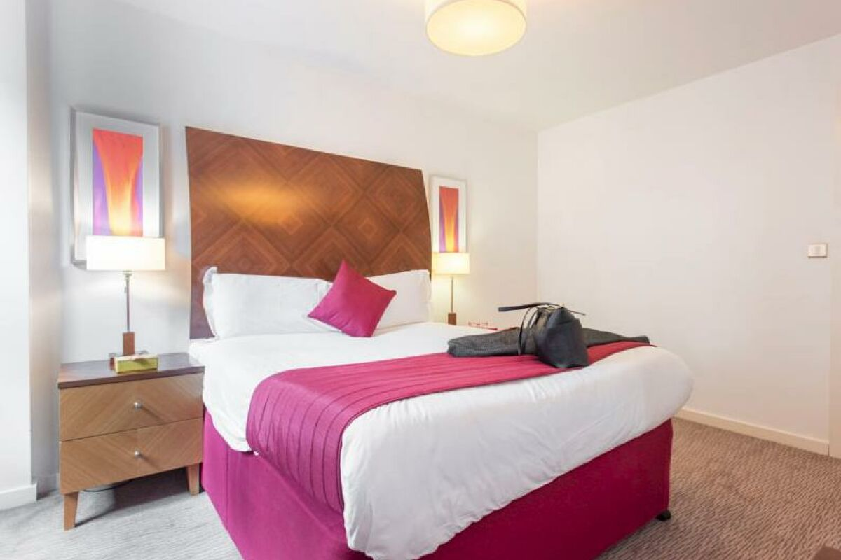 Bedroom, Manchester Premier Serviced Apartments in Manchester