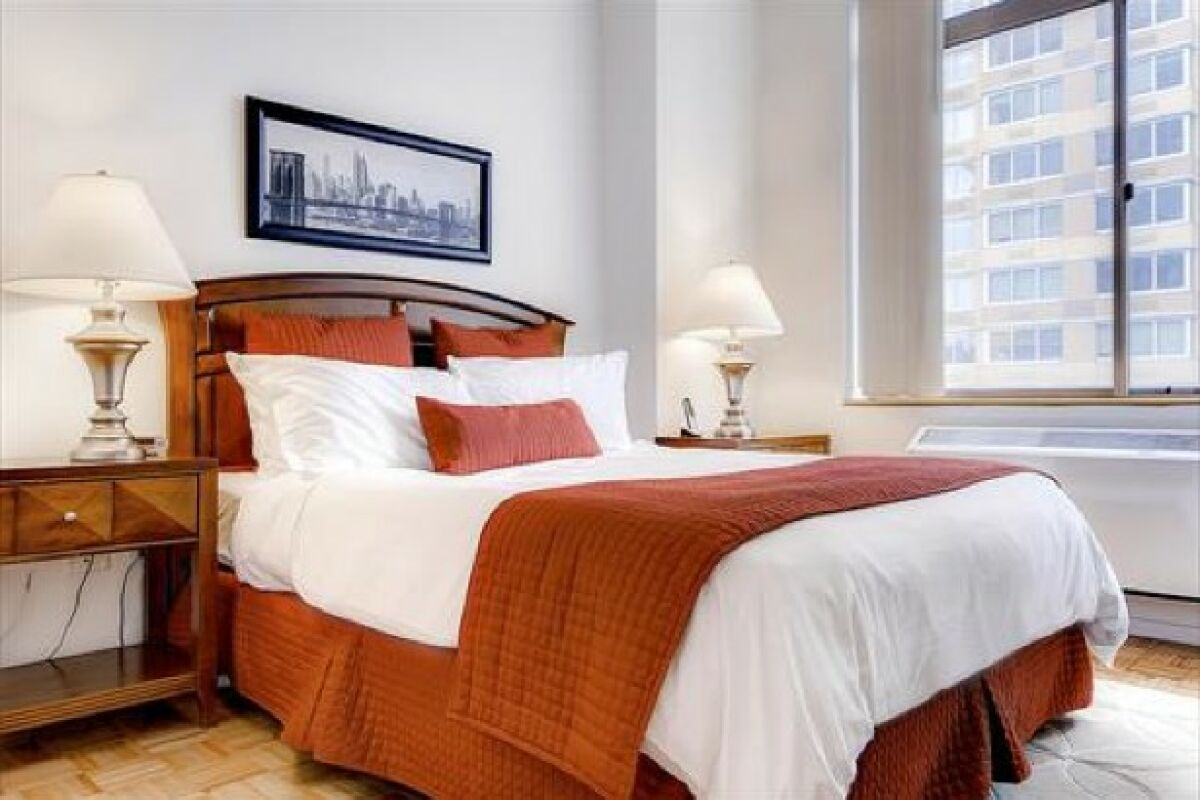 Bedroom, 777 Avenue Serviced Apartments, New York