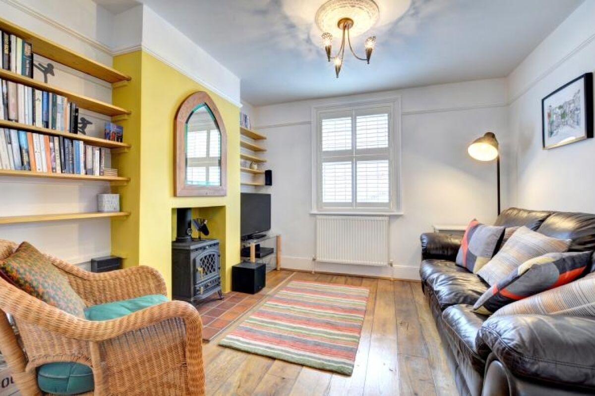 Sitting Area, Orange House Serviced Accommodation, Brighton