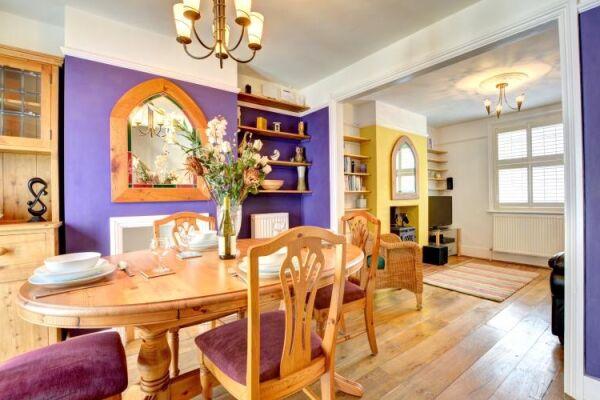 Dining Area, Orange House Serviced Accommodation, Brighton