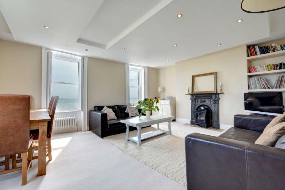 Living Area, Pier View Serviced Apartments, Hove