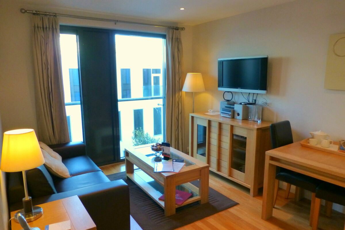 Lounge, Liberty Wharf Serviced Apartments, Jersey