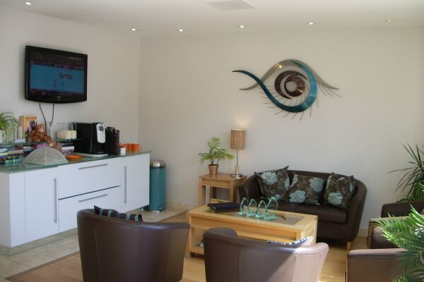 Reception, Liberty Wharf Serviced Apartments, Jersey