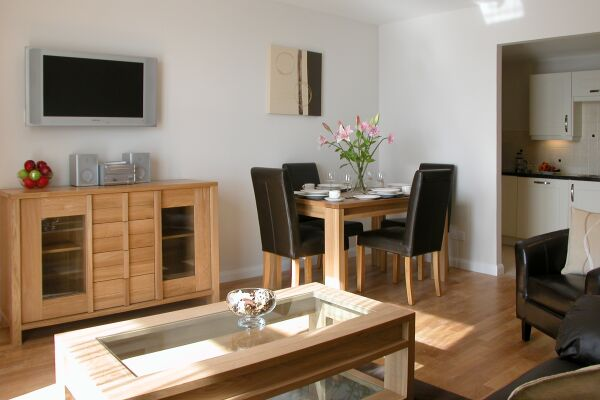 Dining Area, Liberty Wharf Serviced Apartments, Jersey
