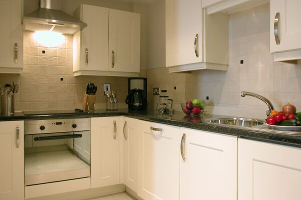 Kitchen, Liberty Wharf Serviced Apartments, Jersey