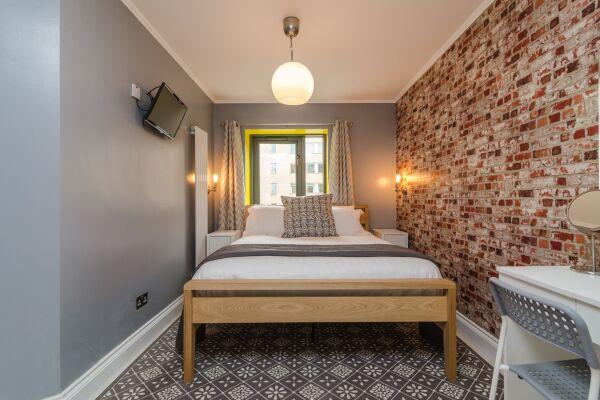 Bedroom, Citygate Serviced Apartments, Belfast