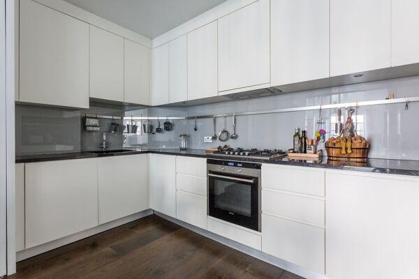 Kitchen, Rutland Mews South Serviced Apartment, London