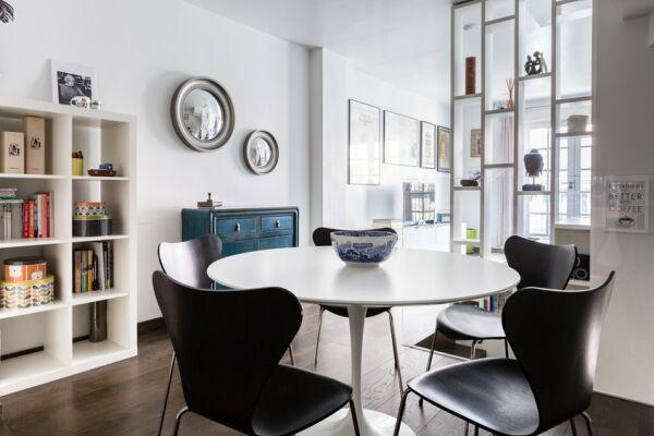 Dining Area, Rutland Mews South Serviced Apartment, London