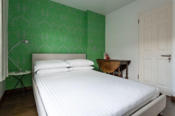 Bedroom, Rutland Mews South Serviced Apartment, London