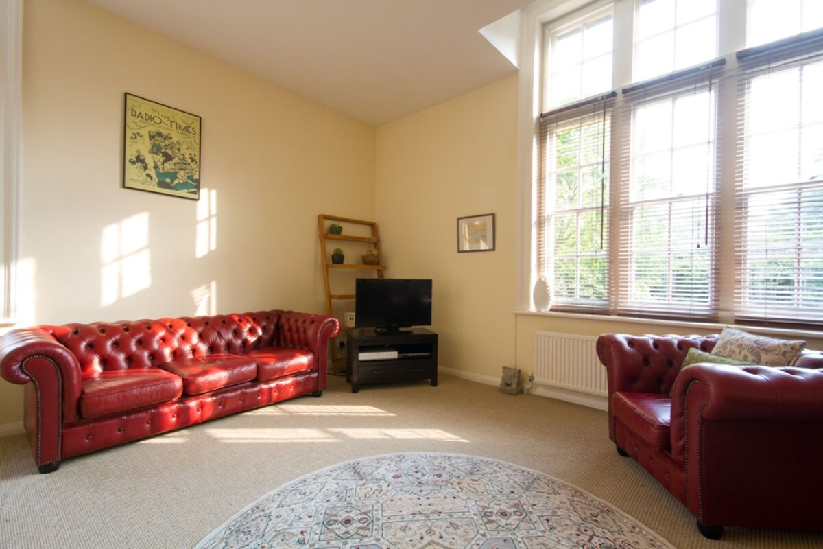 Living Area, Kent House Serviced Accommodation, Eastbourne