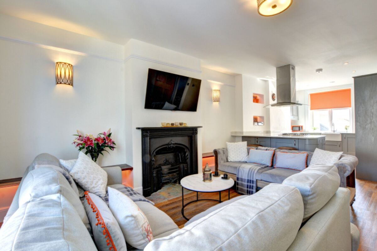 Living Area, Thirty Seven House Serviced Accommodation, Brighton