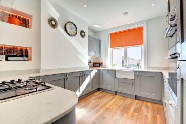 Kitchen, Thirty Seven House Serviced Accommodation, Brighton