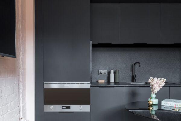 Kitchen, Whitworth Locke Serviced Apartments in Manchester