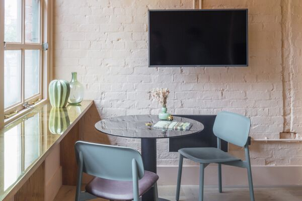 Living and Dining Area, Whitworth Locke Serviced Apartments in Manchester