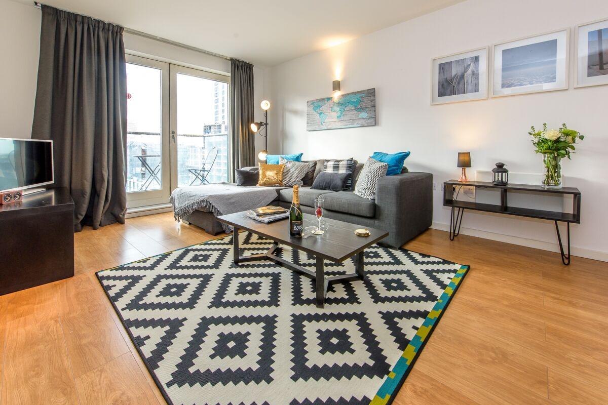 Living Area, Skyline Serviced Apartments, London