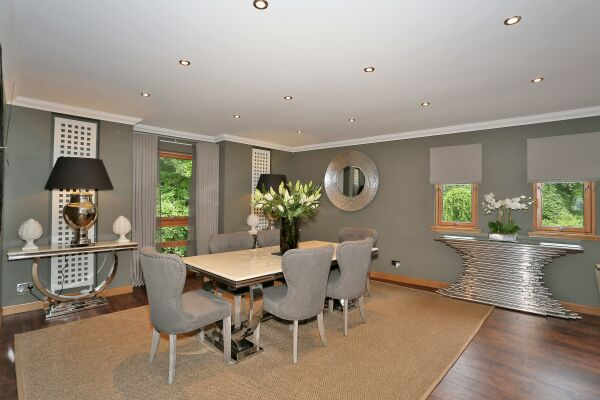 Dining Area, Wellwood Mansions Serviced Apartments, Aberdeen