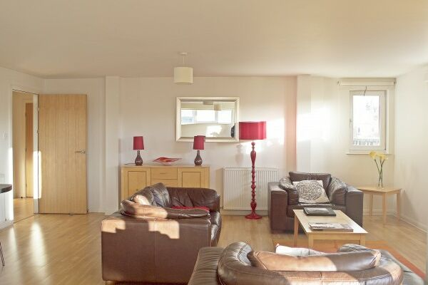 Living Area, City Centre Serviced Apartments, Edinburgh