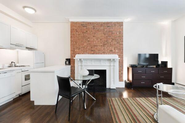 Studio Common Area, 155 West Serviced Apartments, New York