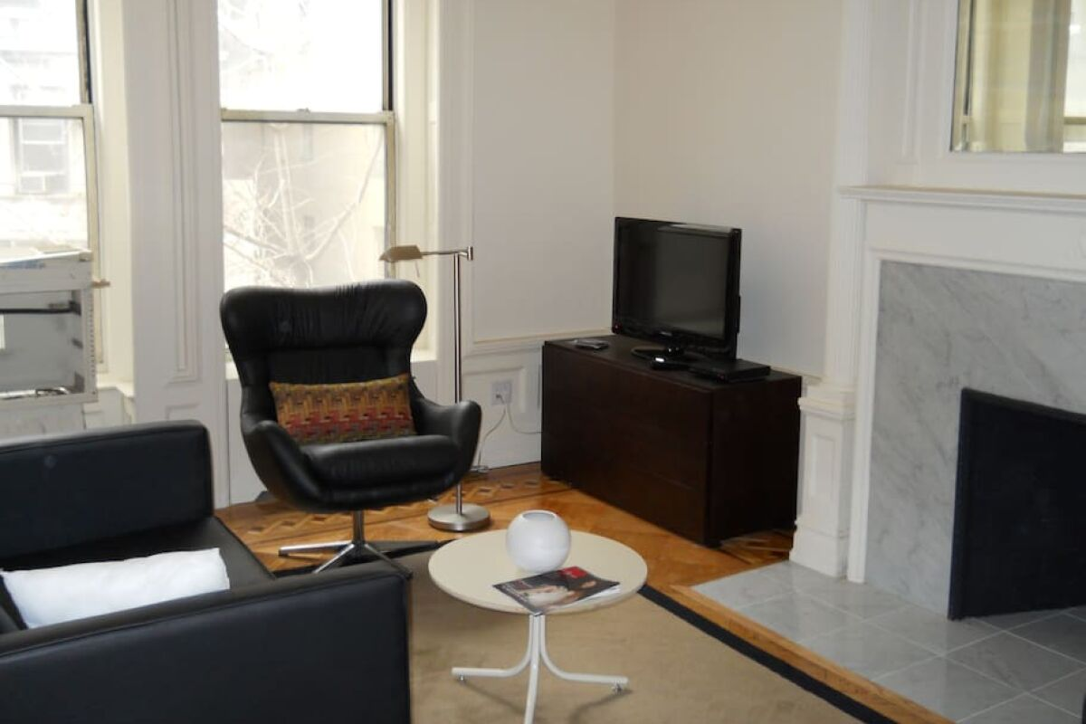 Living Area, 347 West Serviced Apartment, New York