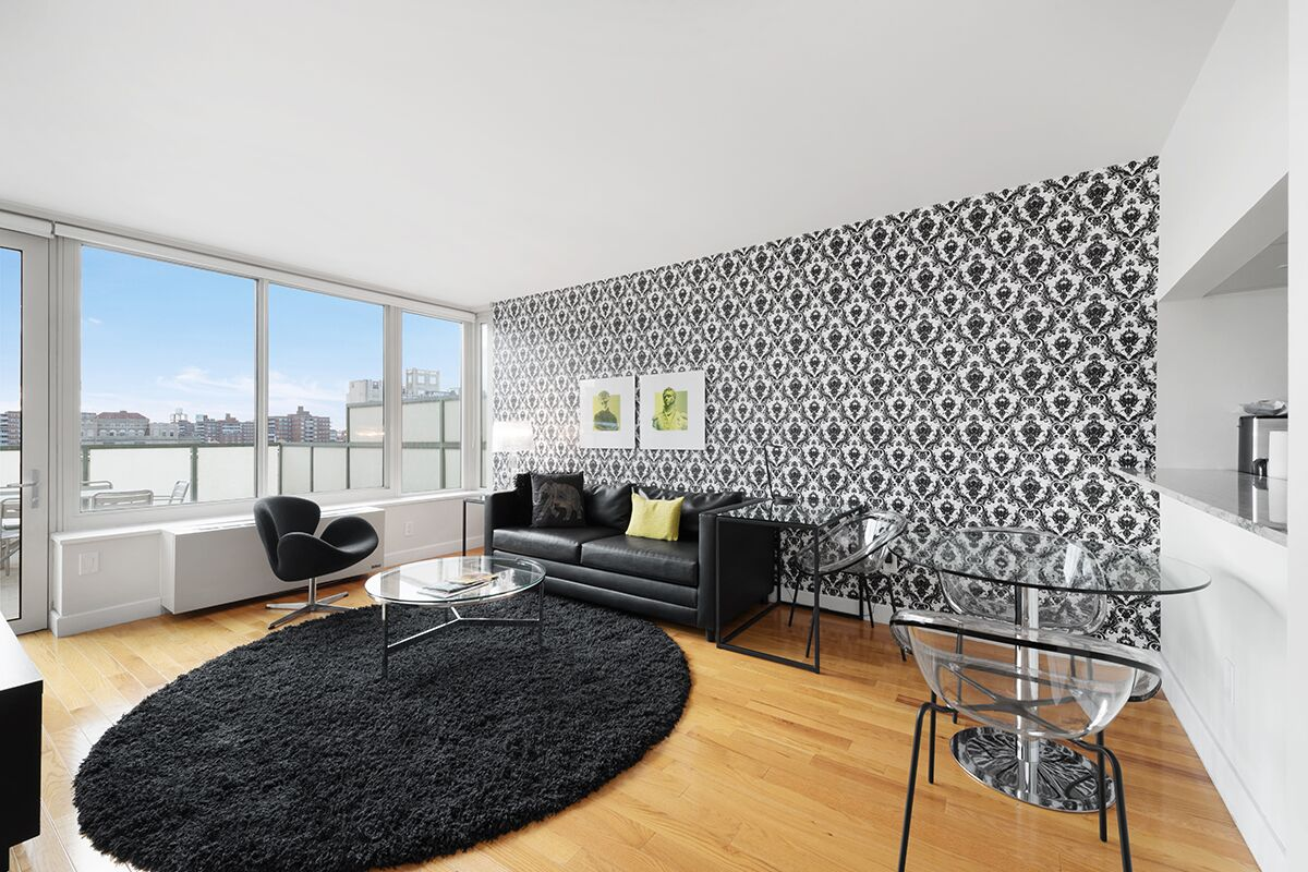 Living Room, The Olivia Serviced Apartments, New York