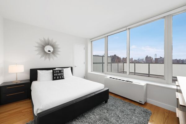 Bedroom, Living Room, The Olivia Serviced Apartments, New York