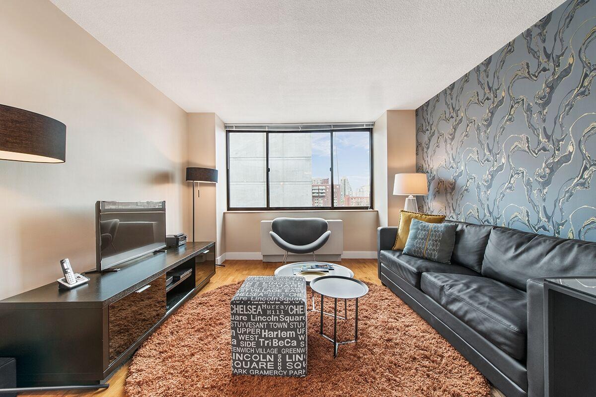 Living Room, Sagamore Serviced Apartments, New York