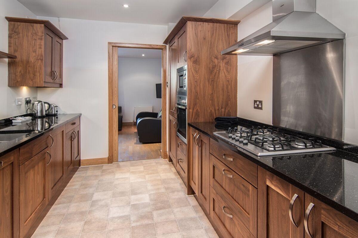 Kitchen, Ropewalk Townhouse Serviced Accommodation, Edinburgh