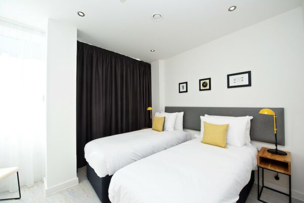 Bedroom, Piccadilly House Serviced Apartments in Manchester