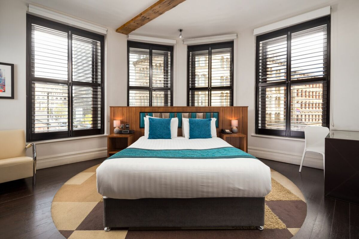 Bedroom, Princess Street Serviced Apartments in Manchester