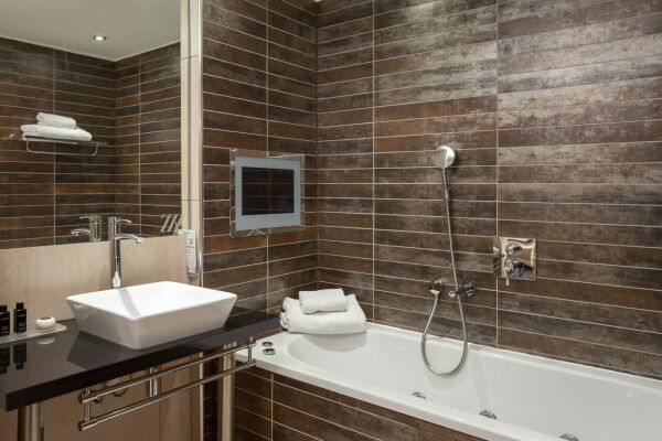 Bathroom, Princess Street Serviced Apartments in Manchester