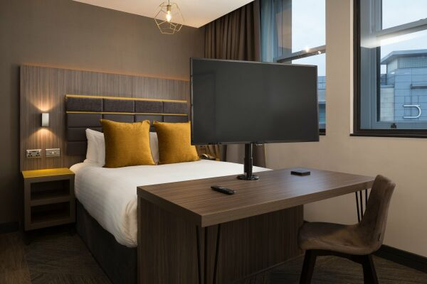 Bedroom, Corn Exchange Serviced Apartments in Manchester