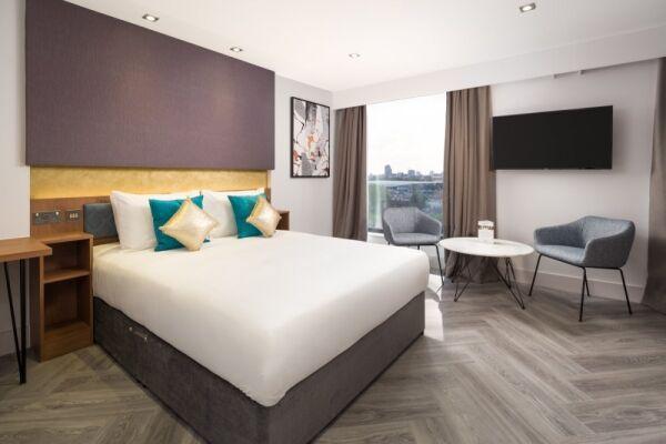 Bedroom, London Stratford Serviced Apartments