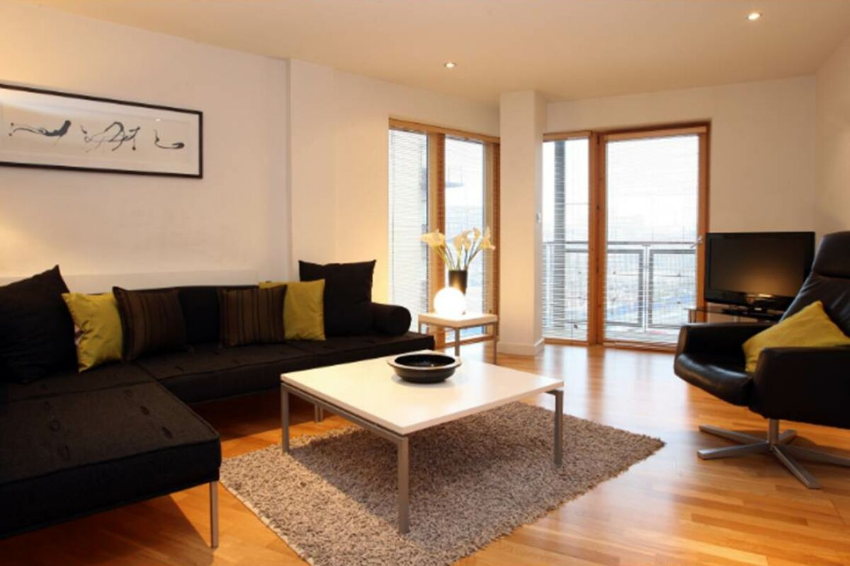 Riverside West Serviced Apartments in Leeds, Living Area