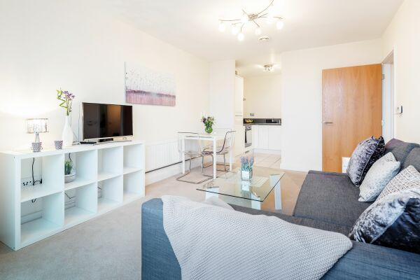 Living area, LEYWICK APARTMENT