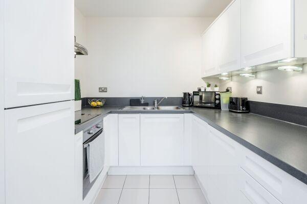 Kitchen, LEYWICK APARTMENT