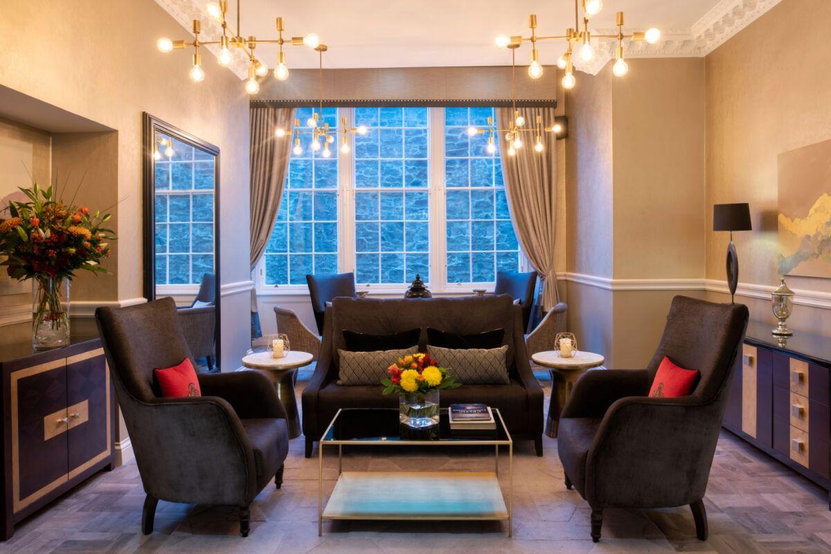 Fraser Suites Edinburgh lobby
