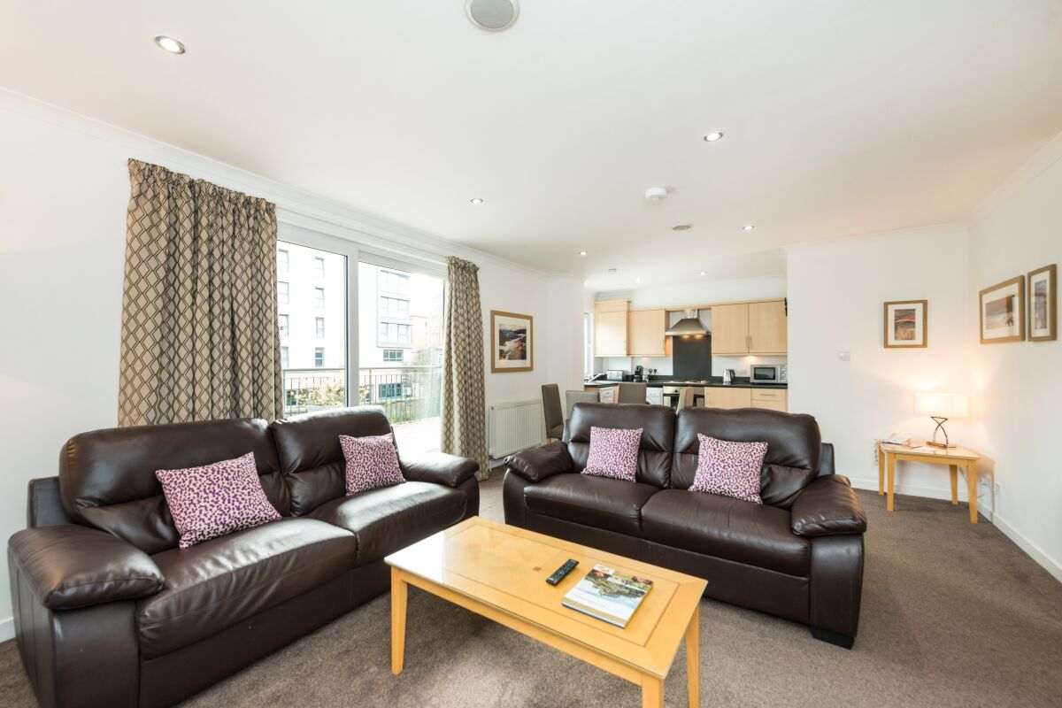 Living Room, Harris Serviced Apartments, Edinburgh