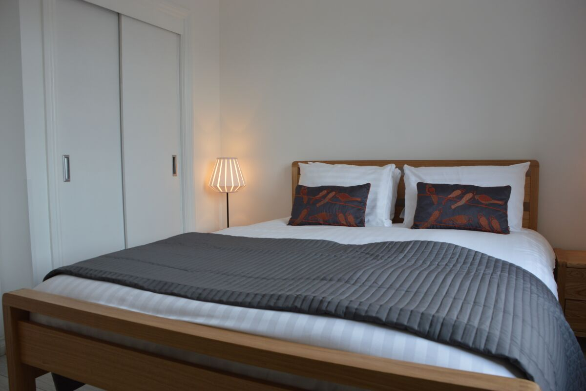 Bedroom, Alfred Street Serviced Apartments, Belfast
